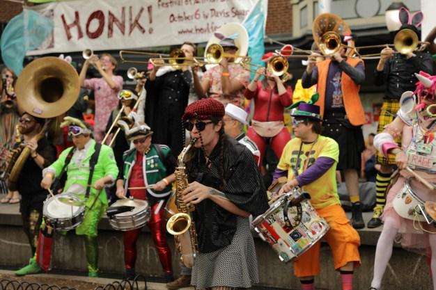 Honk! is Boston's Mardi Gras for Activist Street Bands