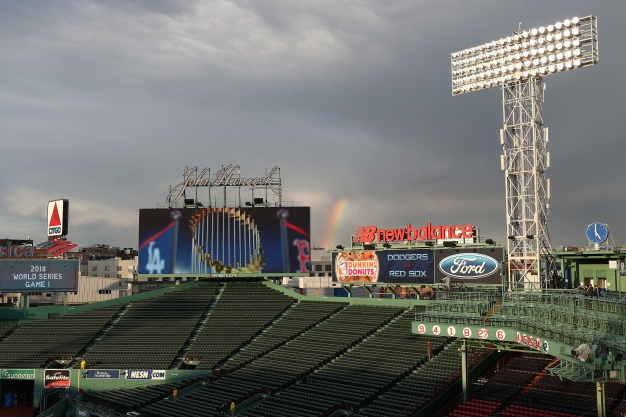 GALLERY: Red Sox vs. Dodgers, World Series Game 1