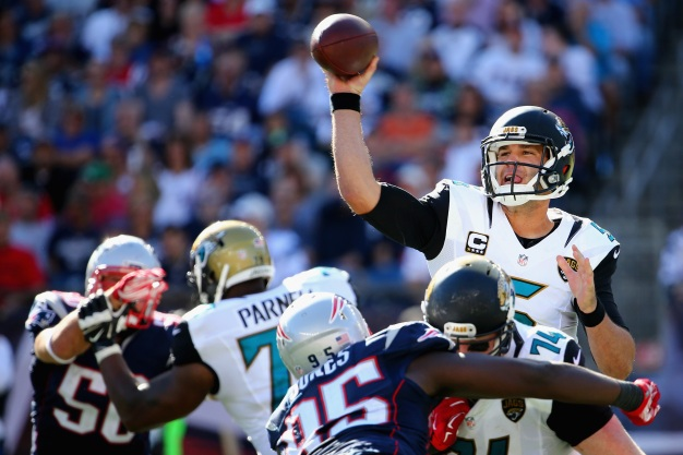 Pats, Jags Ready for AFC Matchup, All Eyes on Brady's Hand