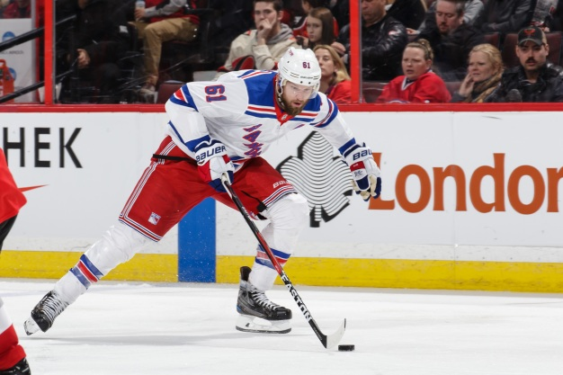 Bruins Acquire Nash in Multiplayer Trade with Rangers