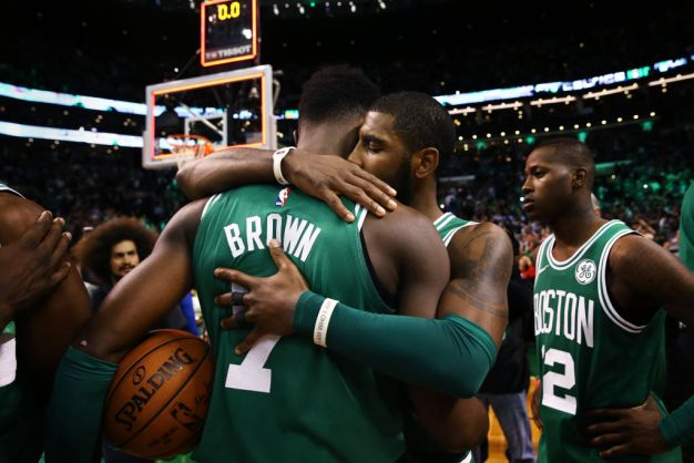 Brown's Heart Heavy for 14th Straight C's Win Over Warriors