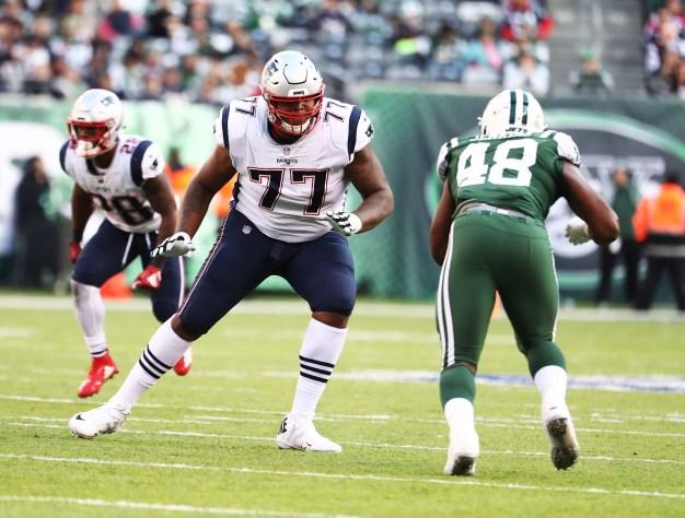 OT Trent Brown is Keeping Tom Brady Safe