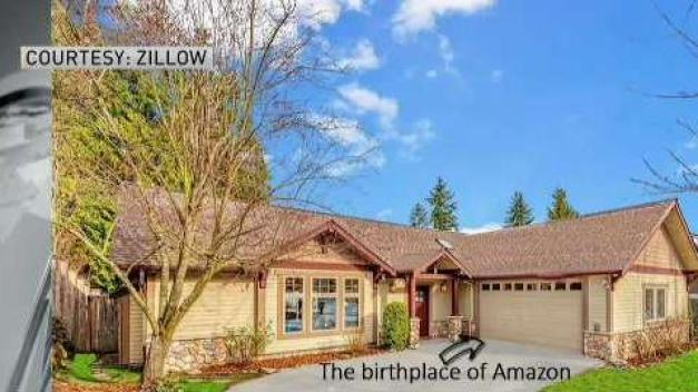 Home Where Amazon Started Now For Sale