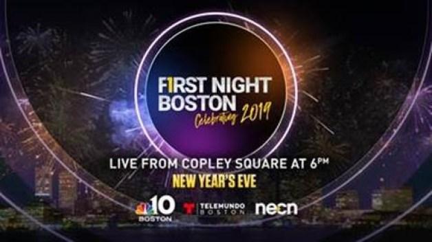NBC10 Boston to Air 'First Night Boston' New Year's Broadcast