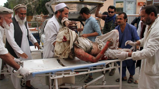 Afghan Village Buries Its Dead After Mosque Bombing Kills 66