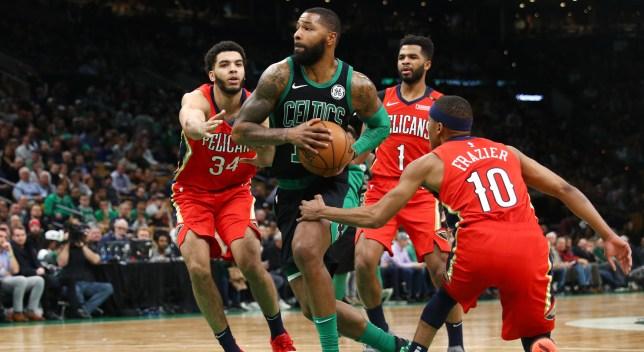 Morris Leads Depleted Celtics Past Pelicans 113-100