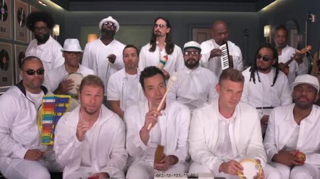 'Tonight': Backstreet Boys, Roots Sing 'I Want It That Way'