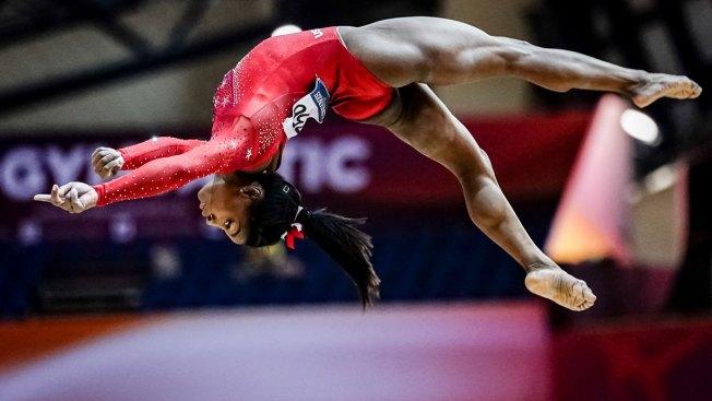 Still Golden: Simone Biles, Americans Roll at World Championships