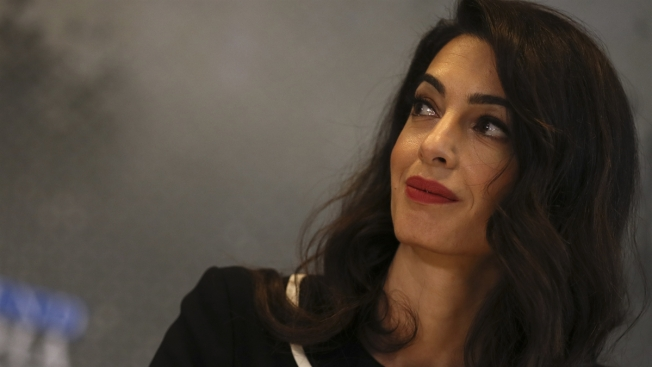 Amal Clooney Faults 'Collective Shrug' Over Slain Journalist