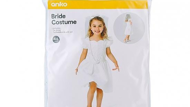 Stores Pull Child Bride Costume From Shelves Amid Debate