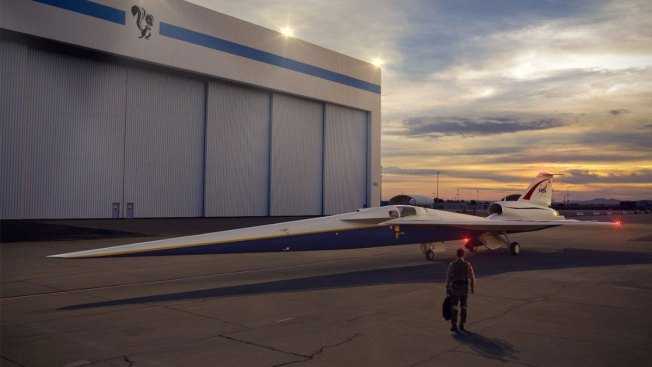 Lockheed Martin Starts Production of Its Experimental Supersonic Plane