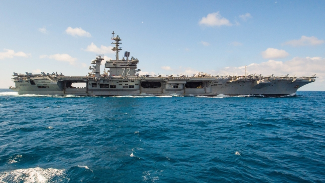 US Dispatched Aircraft Carrier to Send Message to Iran, Source Says
