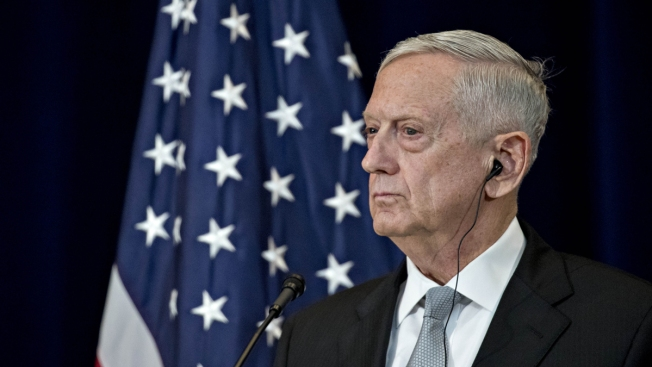 Mattis in Baghdad: ISIS Militants Caught in Iraq-Syria Military Vise