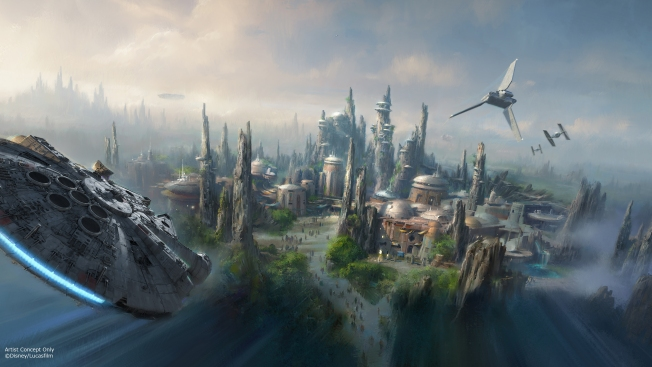 Disney Star Wars Lands Set to Open in 2019