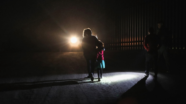 Hundreds of Migrant Kids Separated From Parents Are Stuck at Border Stations