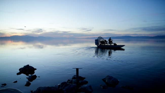[NATL] Stunning Images of the Shrinking Salton Sea