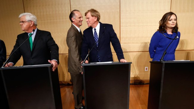 David Duke's Inclusion Derails Louisiana Senate Race Debate