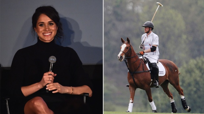 Royal Relationship: Meghan Markle at Prince Harry's Polo Match