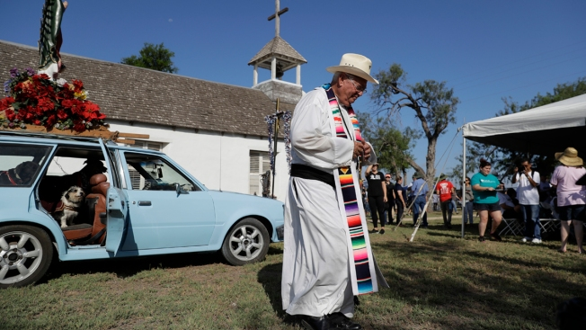 Legal Fight Over Texas Church Along Planned Border Wall