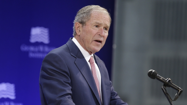 George W. Bush Says Russia Meddled in 2016 US Election