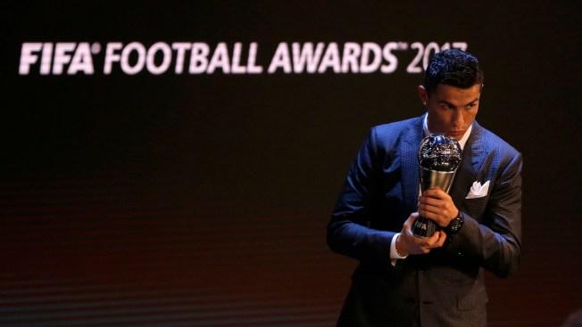 Ronaldo Joins Messi as 5-Time Winner of FIFA Player Award