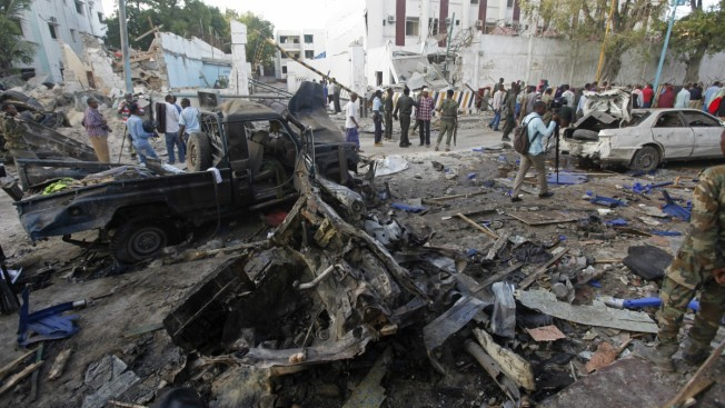 Somalia Police End Night-Long Siege of Hotel; 23 Dead