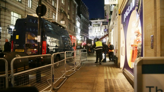 London's Oxford Circus underground station evacuated, armed police on the scene