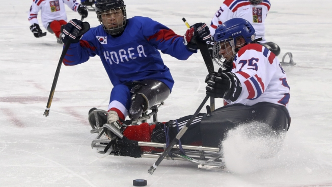 North Korean Defector Hits Paralympic Ice for South Korea