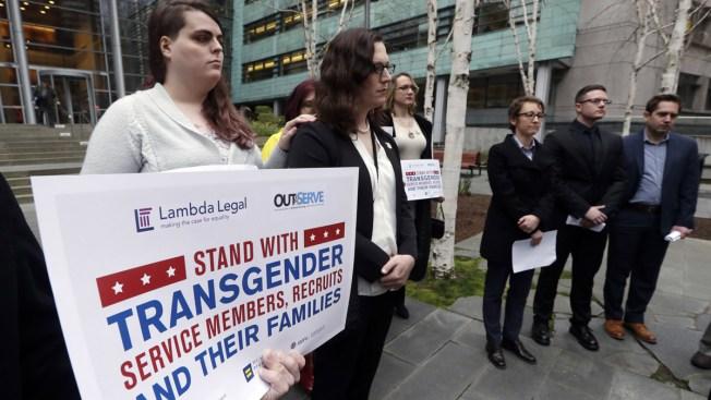 Judge: Trump's Ban on Transgender Troops on Hold Until Trial