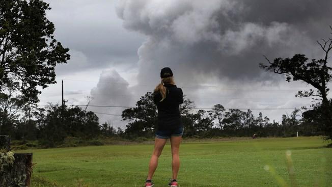 Ash Falls Near Hawaii's Kilauea Volcano That 'Smelled Like Sulfur'