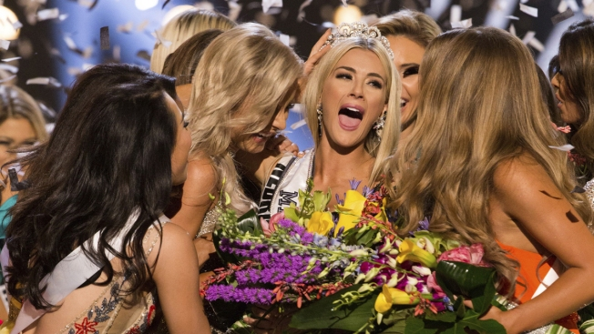 Miss Nebraska Wins Miss USA Urging We 'Listen to Each Other'