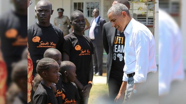 Obama Praises Kenya's Political Reconciliation