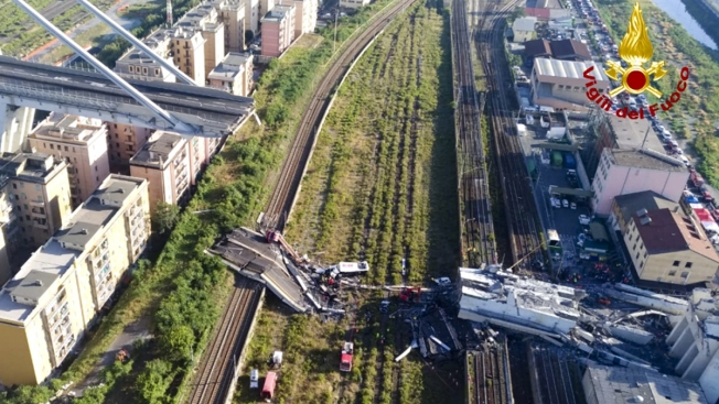 Italian Leader Demands Safe Roads; Bridge Death Toll Rises