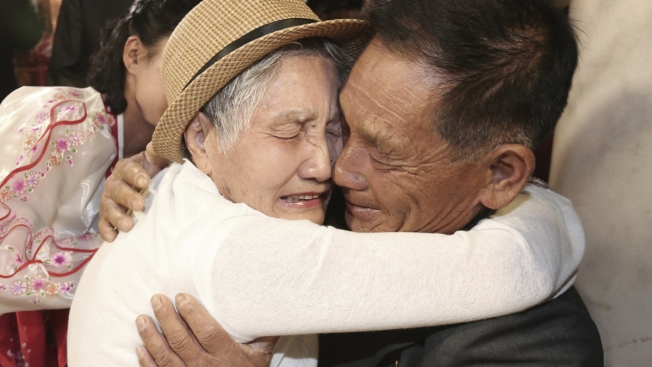 Brief Korean Reunions Bring Tears for Separated Families
