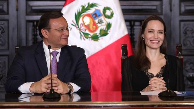 Angelina Jolie Seeks Support for Venezuelan Refugees