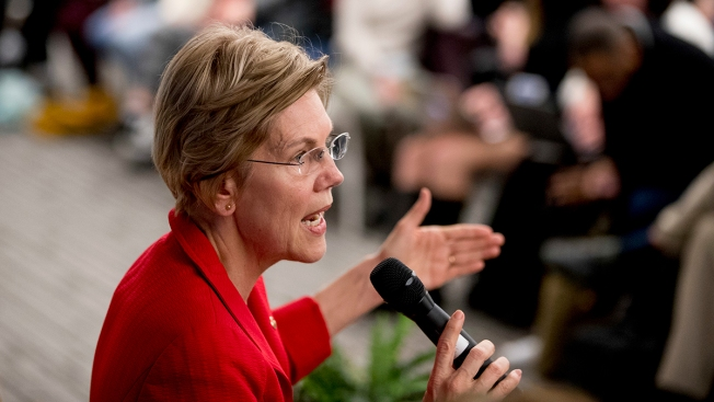 Warren Takes Veiled Swipe at Trump, Says She Is 'Optimistic' About Future