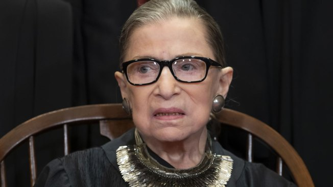 Ruth Bader Ginsburg Missing Supreme Court Arguments for 1st Time
