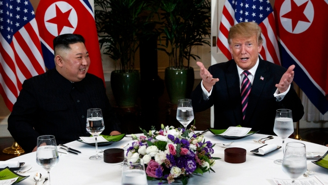 White House Limits Press Access to Trump-Kim Dinner After Reporters Shout Cohen Questions