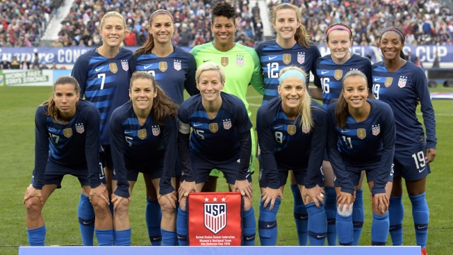 Women's National Soccer Team Players Sue for Equal Pay