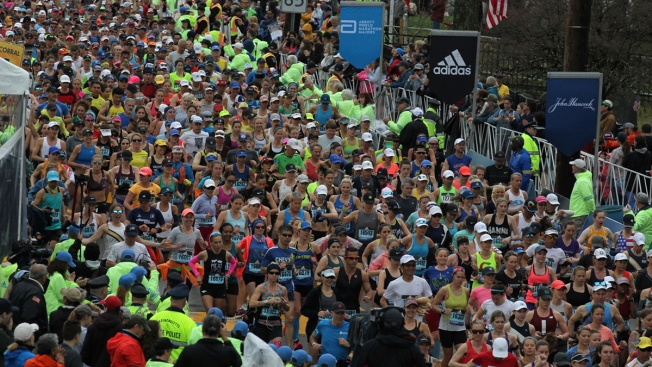 [NATL-BOS]Scenes From the 123rd Boston Marathon
