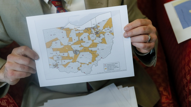 Judges Declare Ohio's Congressional Map Unconstitutional