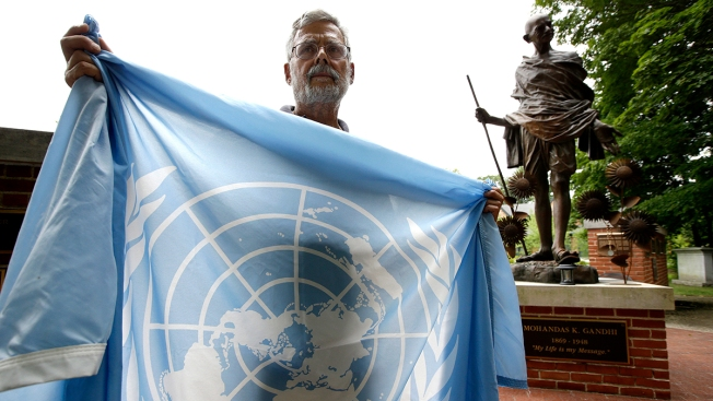 'Peace Park' at Sherborn Condo Development Removes United Nations Flag After Objections
