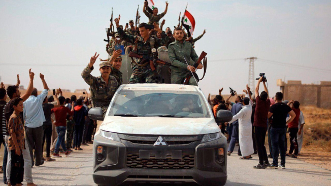Turkey Widens Invasion as Syrian Army Returns to Northeast