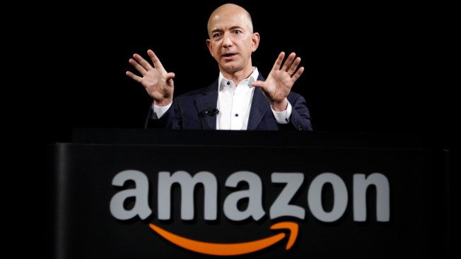 Trump Trains Crosshairs on Favorite Target, Again - Amazon