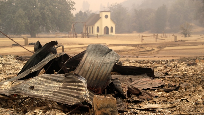 Lasting Fire Damage Scars Some of SoCal's Most Scenic Parks