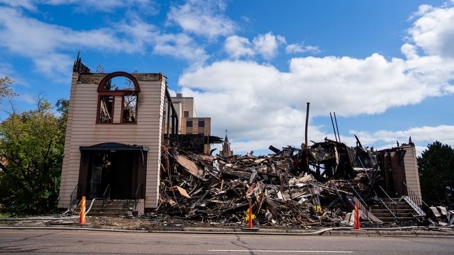 Man Held in Connection to Fire That Destroyed 119-Year-Old Minnesota Synagogue