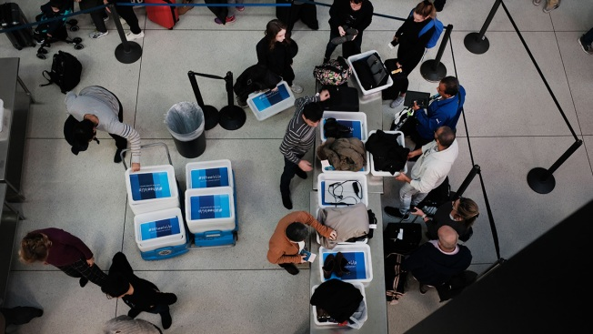 Number of No-Show Airport Security Screeners Soars in Shutdown