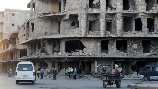 Syria's Aleppo Symbol of Assad's Wins and of Enduring War