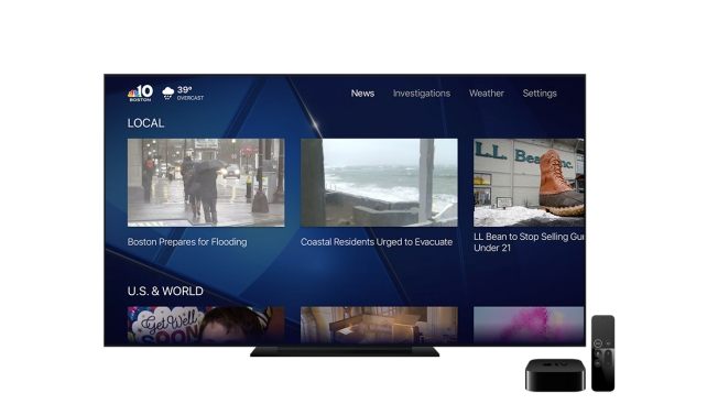 Get NBC10 Boston on Your Apple TV