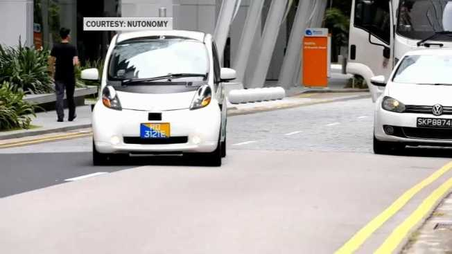 Expanded Push for Self-Driving Cars in Boston?